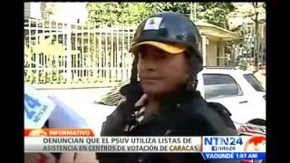 Así transcurre la jornada de elecciones municipales en Venezuela