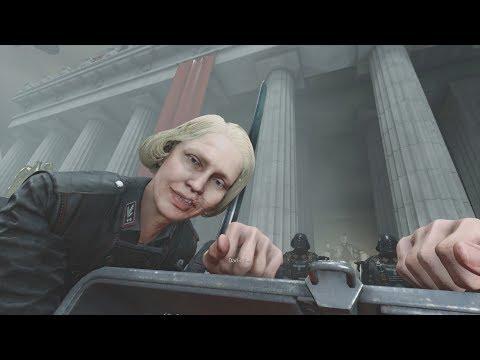 Wolfenstein 2 The New Colossus Head Transplant Scene