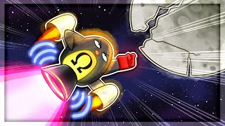 I Used OMEGA POWERS To Destroy The Moon in Learn To Fly 3