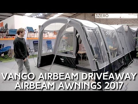 Vango Airbeam DriveAway Awnings Preview 2017