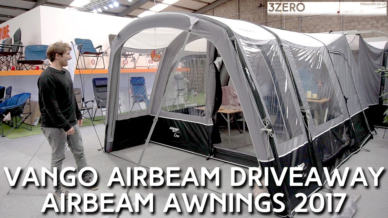 Vango Airbeam DriveAway Awnings Preview 2017