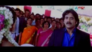 Boss Love Scenes - GK Propose To Anu Climax Scene - Nagarjuna, Nayana Tara