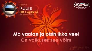 """Ott Lepland - """"Kuula"""" (Estonia)"""