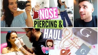 One of Gabriella Lindley's most viewed videos: Getting My Nose Pierced & A Little Haul!