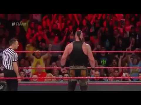 Thumbnail: Ring Collapse During Braun Strowman Vs Big Show Raw 17 April 2017 Main Event