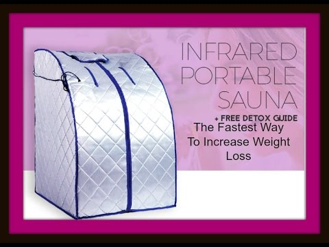 Lose Weight Fast Using An Infrared Portable Sauna
