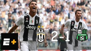 Cristiano Ronaldo scores first two goals − Јuvеntuѕ vs Ѕаѕѕuоlо − Hіgһlіghts 2018 (1080 HD)