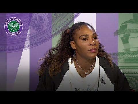 Serena Williams 'feeling pretty good'   Wimbledon 2018