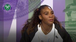 Serena Williams 'feeling pretty good' | Wimbledon 2018