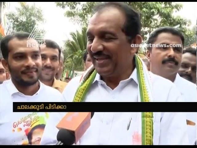 Chalakudy UDF candidate Benny Behanan lastlap campaign | കൊട്ടിക്കലാശം