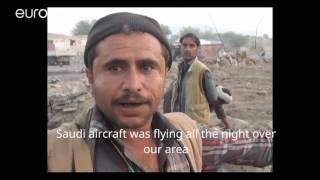 خمسة عشر قتيلاً في قصف جوي سعودي استهدف تجمعاً مدنياً في مدينة تعز اليمنية | Euronews