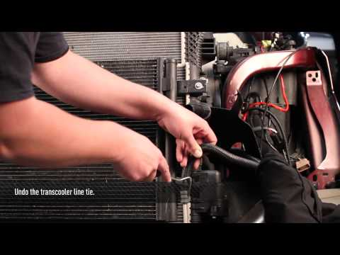 2011-2016 Ford 6.7L Powerstroke Aluminum Primary Radiator Install Video, by Mishimoto