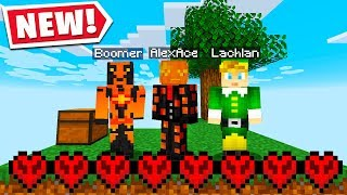 Minecraft Hardcore But If I Die The STREAM ENDS.. Ft. Lachlan & Boomer