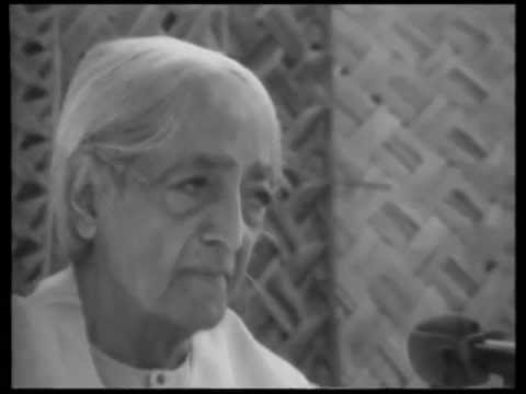 How Does One Go To The Very Source Of Thought? | J. Krishnamurti