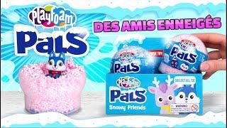 Déballage de jouets surprises PLAYFOAM PALS : Trouve Le Bonhomme de Neige thumbnail