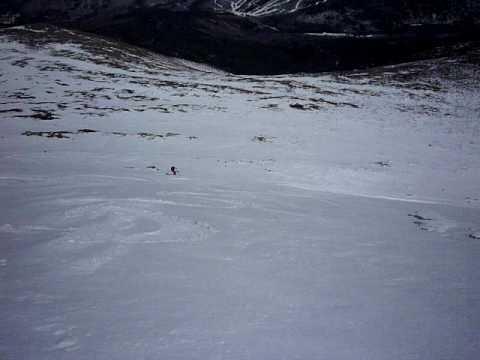 East Face Snowfields, Mount Washington