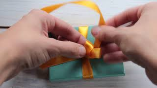 Как завязать красивый бантик на подарке