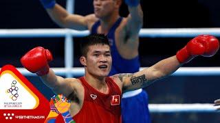 Full trận bán kết hạng 81kg Boxing SEA Games 30: Trương Đình Hoàng vs Soares Frederico