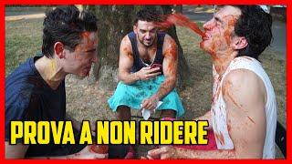 Prova a Non Ridere theBattuta Challenge - Passata di Pomodoro - feat Michele Bravi - theShow deSciò