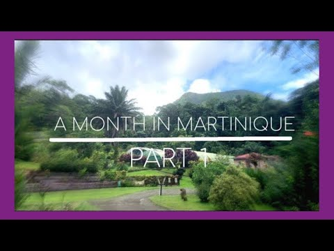 A MONTH IN MARTINIQUE | STUDY ABROAD | PART 1