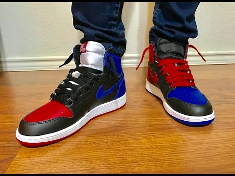 40a939e25f3 Wife s Jordan Retro 1 Top 3 unbox and on feet review