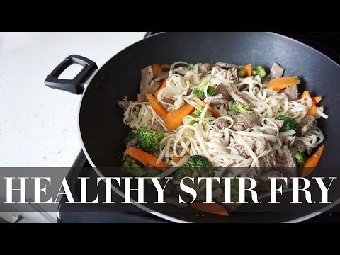 MY HEALTHY STIR FRY RECIPE- Quick & Easy Meal Prep!