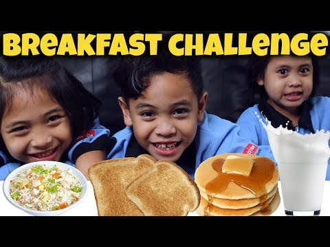 MADURASA Breakfast 🥞 Challenge  TheRempongs