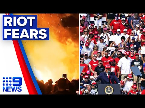 US businesses fear mass protests and riots   9 News Australia