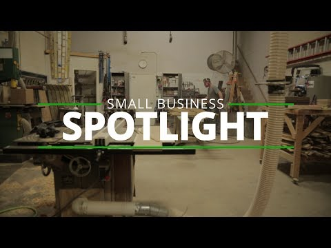 Small Business Spotlight - End Grain Woodworking Company