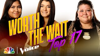 "Worth the Wait Harmonizes The Judds' ""Love Is Alive"" - The Voice Live Top 17 Performances 2020"