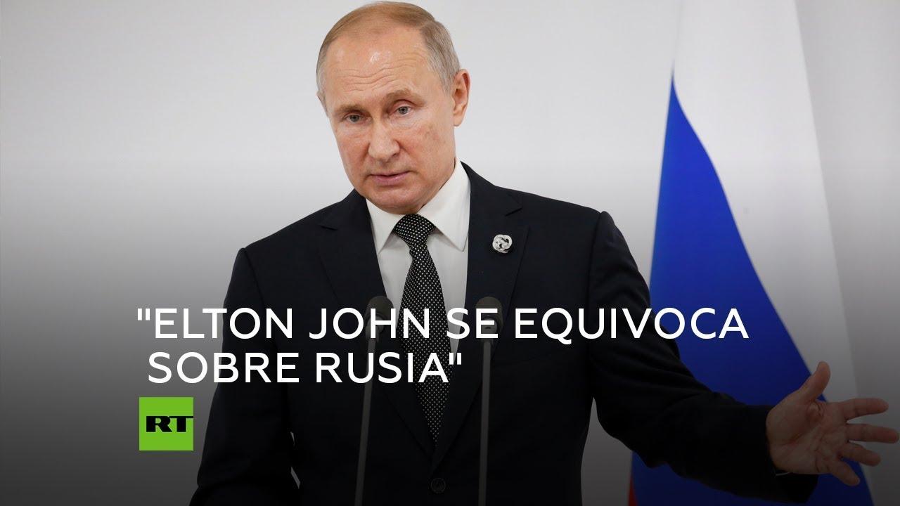 Putin En Rusia Tratamos A Los Gays De Forma Ecuánime