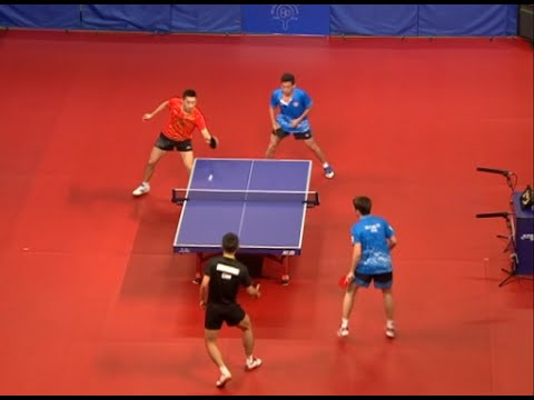 Chinese Mainland Olympians Play Table Tennis Exhibition Games in Hong Kong