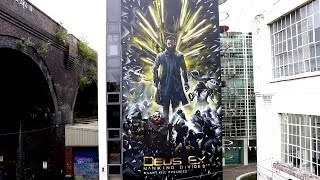 Deus Ex: Mankind Divided - Augmented Mural