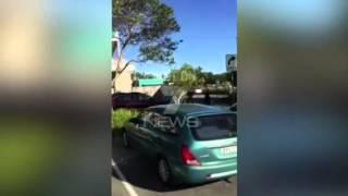 Police shoot knife-wielding man outside...