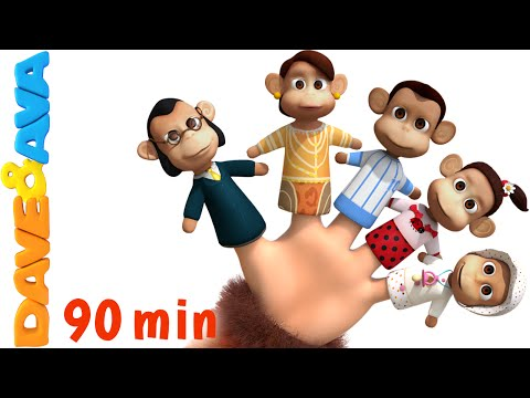 Thumbnail: Finger Family Song | Nursery Rhymes and Kids Songs | YouTube Nursery Rhymes from Dave and Ava