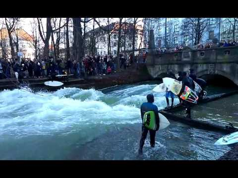 Surfing in Munchen