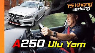 Mercedes A250 (2015) Modified Suspension: Is it Better than Golf GTi? | YS Khong Driving