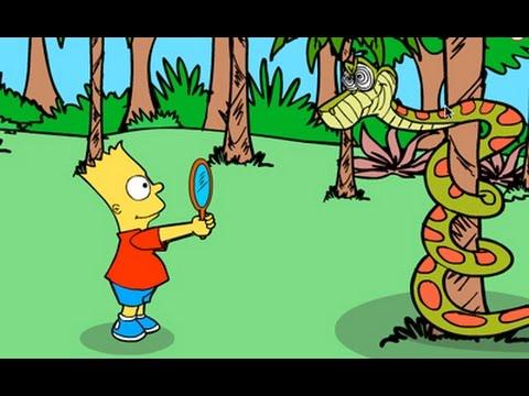 Bart Simpon Island Scape| Friv juegos, friv games
