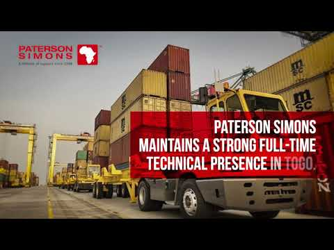 Paterson Simons at Lome Container Terminal