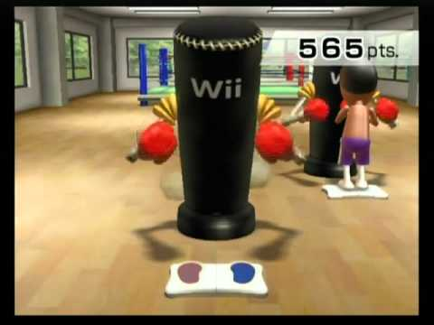 Day 12 of Wii Fit: Rhythm Boxing [Expert (10 min.)]