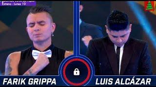 Farik Grippa y Luis Alcázar protagonizaron la tercera batalla musical de la Semifinal