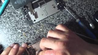 замена модуля на IPhon 4