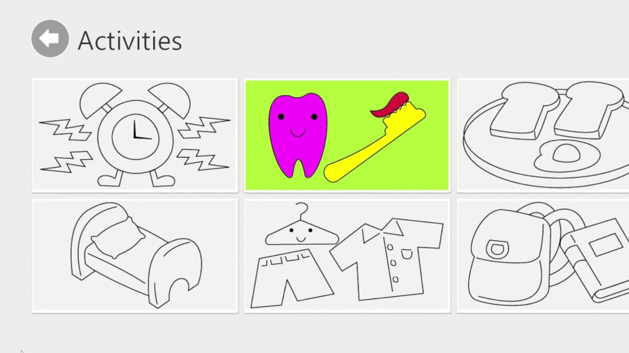 Okul Oncesi Kres Oyunlari Boyama Renkler Nesneler Hayvanlari