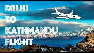 Delhi to Kathmandu Flight | DEL - KTM  | Jet Airways | Nepal -1
