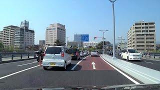 【松江市街】山陰ぐるぐるドライブ【宍道湖畔の城下町】