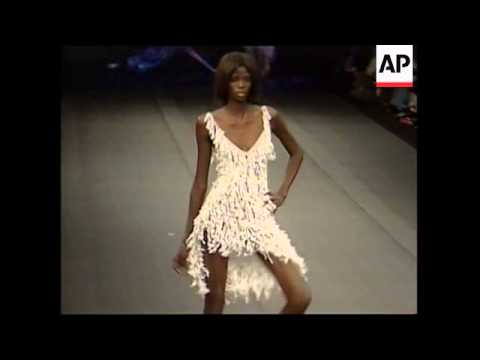 Fashion week shows off Brazilian style