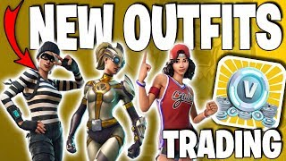 Fortnite - How To Trade Items For V-Bucks & New Leaked Outfits (v4.3.0 Patch Details)