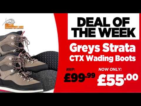 Deal Of The Week | Greys Strata CTX Wading Boots | Fishing Mega Store