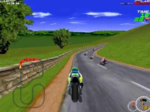 Moto Racer (1997) - Superbike courses