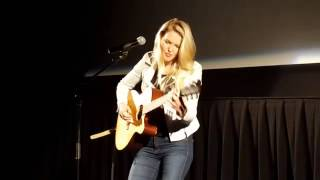 Ashley Campbell performs Remembering in honor of her father Glen Campbell at JAA event June 4.